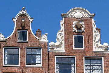 Typische Amsterdamse Gevels van Jan van Dasler