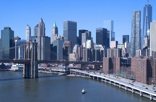 skyline New York in kleur
