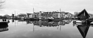 Galgewater Leiden panorama van Ilya Korzelius