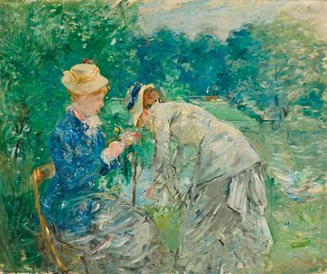 Im Bois de Boulogne, Berthe Morisot