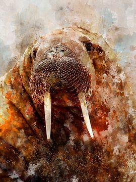 walrus van Printed Artings