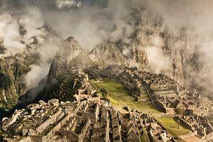 Machu Picchu, alte Inkastadt, Peru