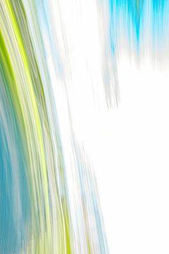 Blau Grün Weiß von Jan Peter Jansen