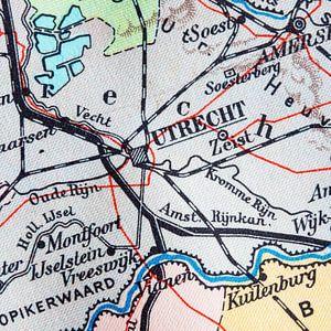 Toen Utrecht nog heel klein was.