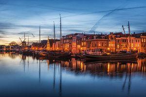 Galgenwater Leiden - Blauwe uur