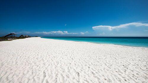 Tropisch wit strand - Klein Curacao