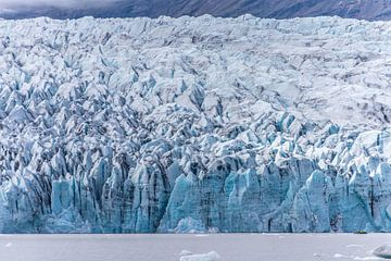 Fjallsárlón gletsjer meer, IJsland van Lieke Dekkers