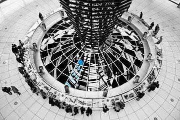 Reichstag in Berlijn van Ton de Koning