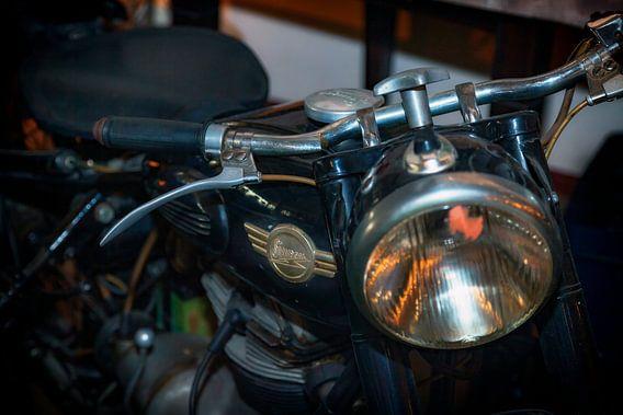 Simson motorfiets van Jan van der Knaap