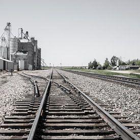 Spoorweg naar nergens van Jonathan Vandevoorde