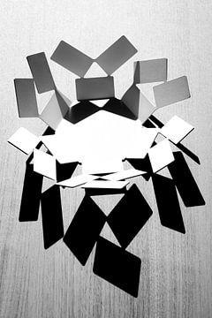 Abstracte Kunst van Aukelien Minnema