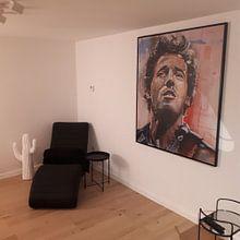 Kundenfoto: Bruce Springsteen malerei von Jos Hoppenbrouwers, auf leinwand