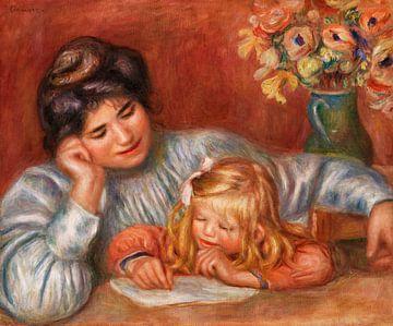 Die Schreibklasse, Renoir (1905)