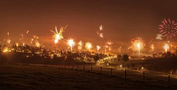 Vuurwerk boven Simpelveld