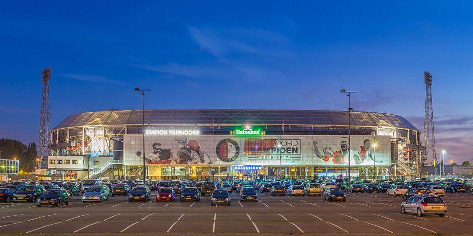 Feyenoord rotterdam stadion de kuip 2017 1 van tux for Canvas feyenoord de kuip