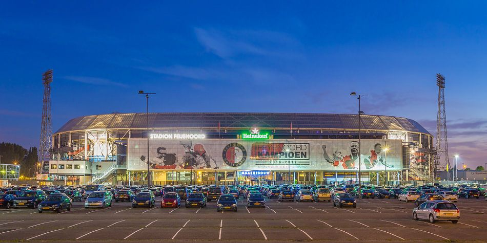 Feyenoord Rotterdam stadion de Kuip 2017 - 1  van Tux Photography
