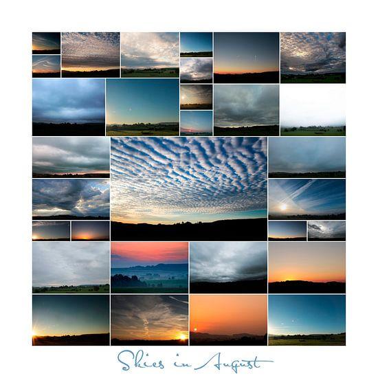 Skies in August