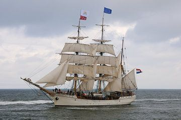 De Europa, tijdens Sail op Scheveningen 2019 van Fred en Roos van Maurik