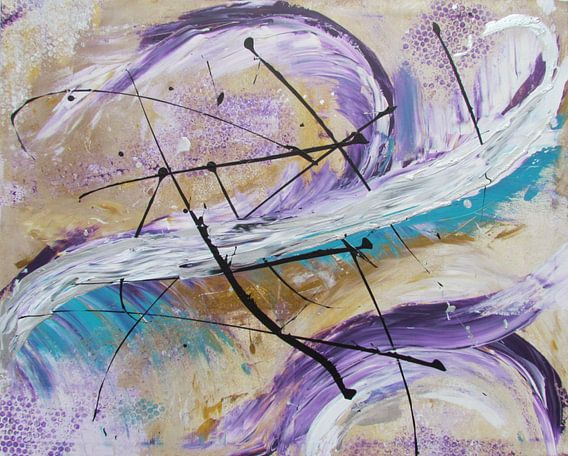 Abstrakte Kunst - Fly Of The Phoenix