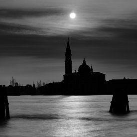 Sonnenaufgang über San Giorgio (Venedig) von Andreas Müller