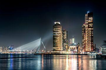 Wilhelmina pier vanaf Katendrecht Rotterdam