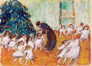 Weihnachtsbaum, Weihnachten, MARIANNE VON WEREFKIN, 1911