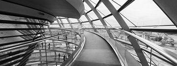 Koepel van de Rijksdag in Berlijn  von Ellen van Schravendijk