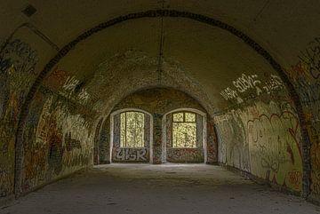 Bogen mit zwei Fenstern von Ans Bastiaanssen