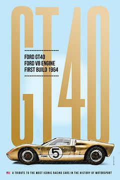 Ford GT40, Le Mans van Theodor Decker