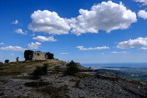 Ruine op een berg
