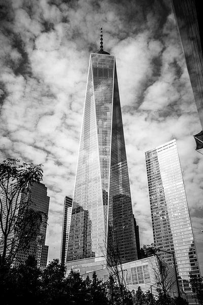 Freedom Tower BW van Thomas van Houten