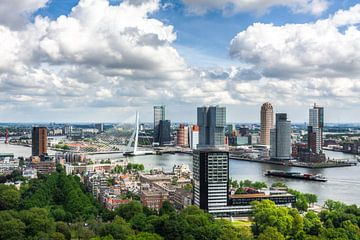 Aussicht auf Rotterdam von