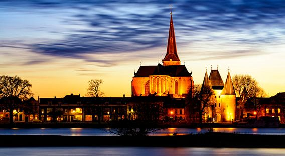 Bovenkerk en Koornmarktpoort in Kampen