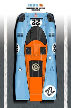 Hobbs, Hailwood 917 Le Mans 1970
