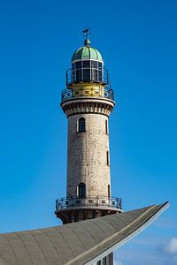 Lighthouse in Warnemuende
