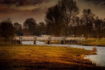 Donkere wolken boven het Markdal von Raymond Meerbeek