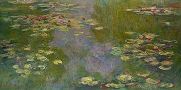 Nymphéas, Claude Monet sur