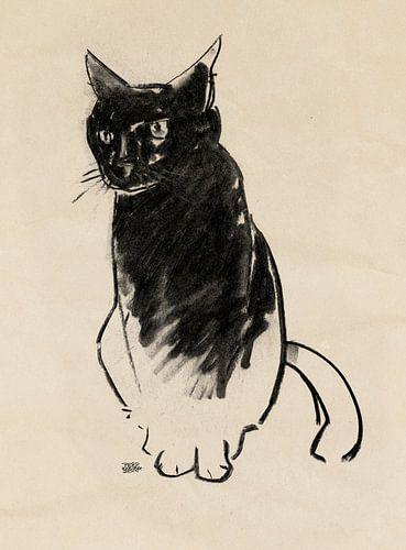 Micky , katten tekening van