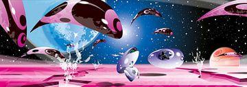 Sci-fi walvissen sur Martino Romijn