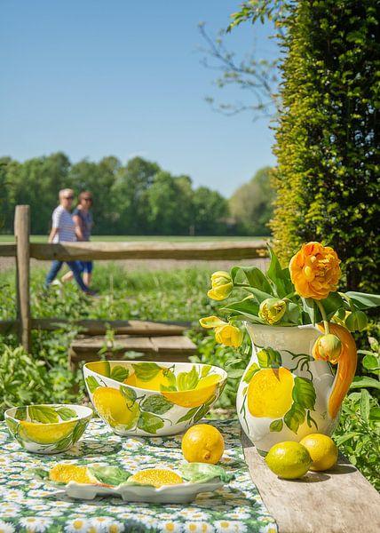 Piccobella servies met citroenen van Christa Thieme-Krus