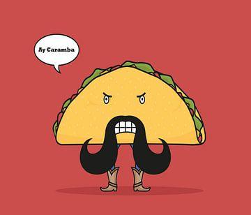 Taco von Lazyfox Illustrations
