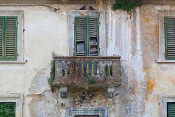 balcony II von Leo van Valkenburg