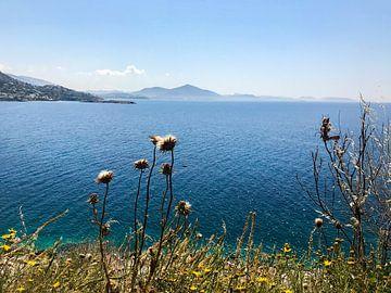 kustlijn van Griekenland van Kayleigh Heppener