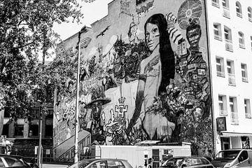 Graffiti Berlin Ost von Jacob Perk