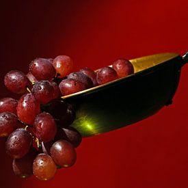 Tros druiven, mooi rustiek in jouw interieur? van Wim Bodewes