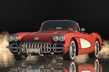 Chevrolet Corvette C1 Le début d'une véritable culture automobile sur Jan Keteleer