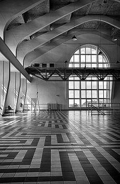 Radio Kootwijk; große Hallensenderstation von Jelte Bosma