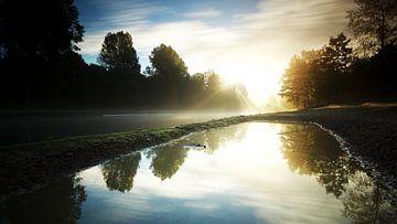 Mysteriöser Sonnenaufgang von Gerhard Niezen Photography