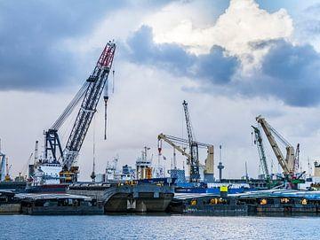 Haven van Rotterdam van Ton de Koning