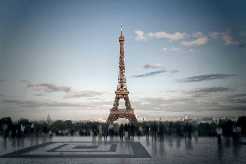 Eiffel Tower, Paris van Melanie Viola